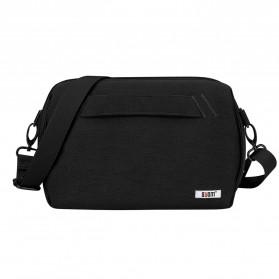BUBM Tas Selempang Messenger Bag Gadget Organizer - XKB - Black