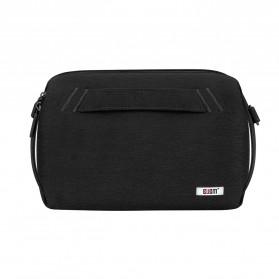 BUBM Tas Selempang Messenger Bag Gadget Organizer - XKB - Black - 3