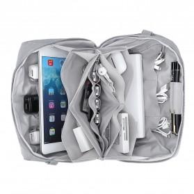 BUBM Tas Selempang Messenger Bag Gadget Organizer - XKB - Black - 9