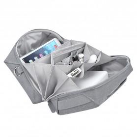 BUBM Tas Selempang Messenger Bag Gadget Organizer - XKB - Black - 10