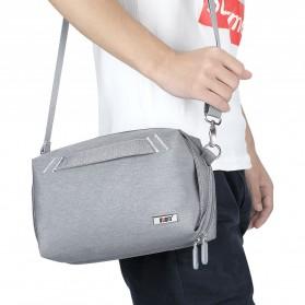BUBM Tas Selempang Messenger Bag Gadget Organizer - XKB - Black - 12