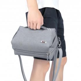 BUBM Tas Selempang Messenger Bag Gadget Organizer - XKB - Black - 13