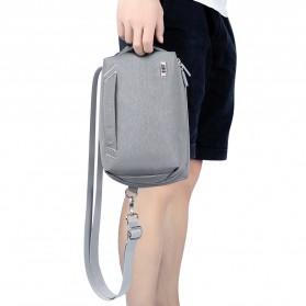 BUBM Tas Selempang Messenger Bag Gadget Organizer - XKB - Black - 14