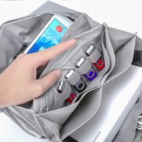 BUBM Tas Selempang Messenger Bag Gadget Organizer - XKB - Black - 15