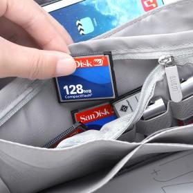 BUBM Tas Selempang Messenger Bag Gadget Organizer - XKB - Black - 16
