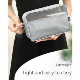 BUBM Tas Pouch Travel Organizer Toiletry Bag - LXXS-B (ORIGINAL) - Black - 7