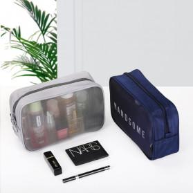 BUBM Tas Pouch Travel Organizer Toiletry Bag - LXXS-B (ORIGINAL) - Black - 8