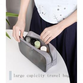 BUBM Tas Pouch Travel Organizer Toiletry Bag - LXXS-B (ORIGINAL) - Black - 9