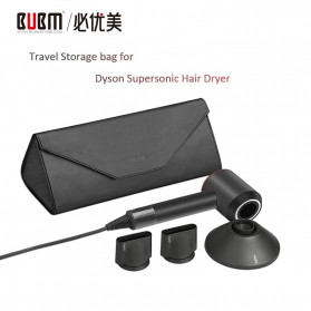 BUBM Tas Hair Dryer Case Dyson Travel Storage Kit - CFJ-XK (ORIGINAL) - Black