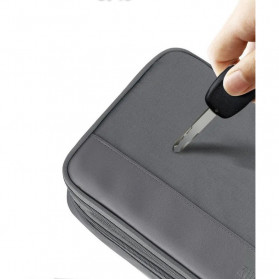 BUBM Tas Gadget Organizer - DGNS-XW (ORIGINAL) - Dark Gray - 8