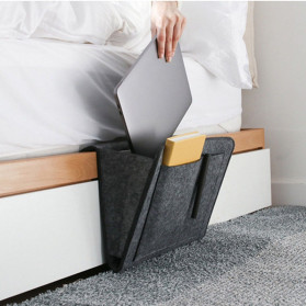 BUBM Tas Bedside Organizer Tempat Tidur - BOG-015 - Dark Gray - 11
