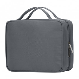 BUBM Tas Pouch Travel Organizer Toiletry Bag - LXXS-C (ORIGINAL) - Dark Gray