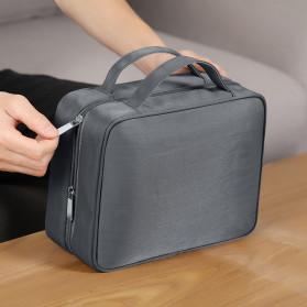 BUBM Tas Pouch Travel Organizer Toiletry Bag - LXXS-C (ORIGINAL) - Dark Gray - 10