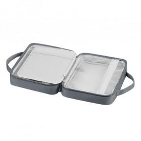 BUBM Tas Pouch Travel Organizer Toiletry Bag - LXXS-C (ORIGINAL) - Dark Gray - 2