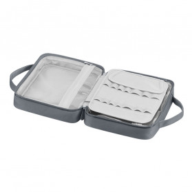 BUBM Tas Pouch Travel Organizer Toiletry Bag - LXXS-C (ORIGINAL) - Dark Gray - 3