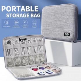 BUBM Tas Gadget Organizer Travel Pouch - DIS-M-NZB (ORIGINAL) - Gray