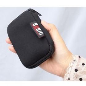 BUBM Universal Electronics USB Drive Accessories Portable Case - Black - 3