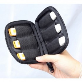 BUBM Universal Electronics USB Drive Accessories Portable Case - Black - 5