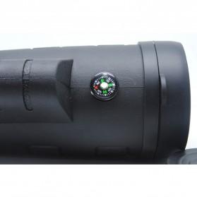 Panda Teropong Monokular Panda 35x50 Focus Lens Adjustable Telescope - Black - 6