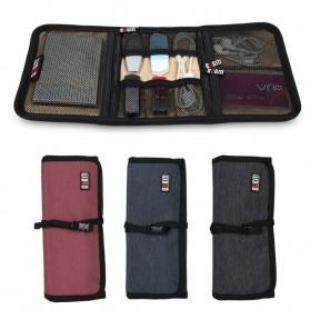 BUBM Tas Portable Aksesoris Gadget Size M - Black - 5