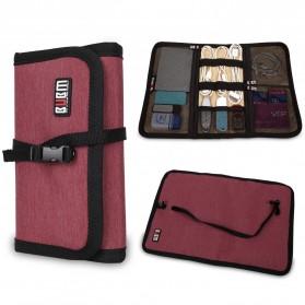 BUBM Tas Portable Aksesoris Gadget Size M - Black - 6