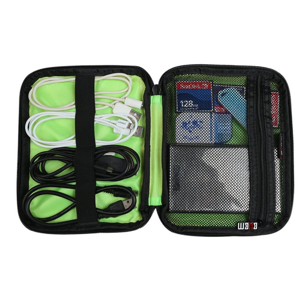 BUBM Tas Gadget Organizer - DI0-XS - Black/Green - 5 ...