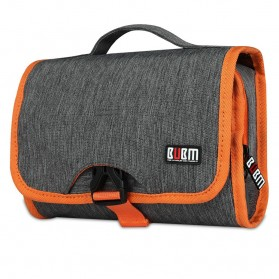 BUBM Tas Travel Organizer Model Gulung - HWB - Gray