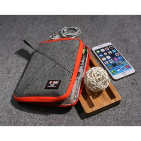 BUBM Tas Organizer Gadget Size L - DIP-S - Gray - 2