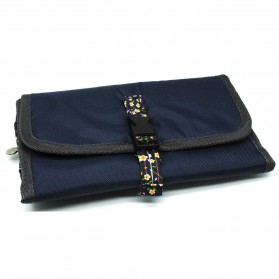 Tas Travel Bag in Bag Organizer Model Gulung - Dark Blue