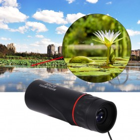 HD Optical  Monocular Telescope Night Vision 10x Zoom - 30x25 - Black - 6