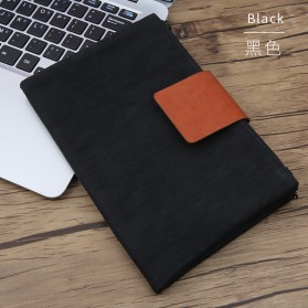 Tas Gadget Organizer Double Layer Foldable - Black
