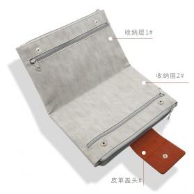 Tas Gadget Organizer Double Layer Foldable - Black - 6