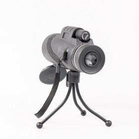 Moge Teropong Monokular Smartphone 40 x 60 Type B - Black - 10