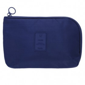 Tas Gadget Travel Organizer Bag in Bag - bag16 - Navy Blue