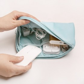 Tas Gadget Travel Organizer Bag in Bag - bag16 - Navy Blue - 2
