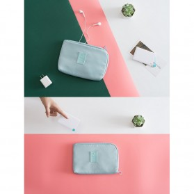 Tas Gadget Travel Organizer Bag in Bag - bag16 - Navy Blue - 3