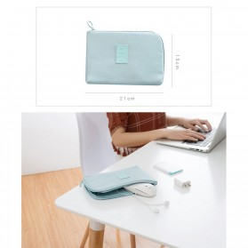Tas Gadget Travel Organizer Bag in Bag - bag16 - Navy Blue - 4