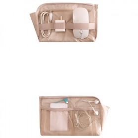 Tas Gadget Travel Organizer Bag in Bag - bag16 - Navy Blue - 5