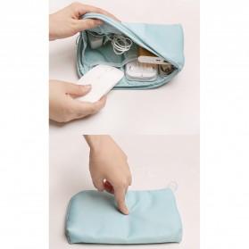 Tas Gadget Travel Organizer Bag in Bag - bag16 - Navy Blue - 9