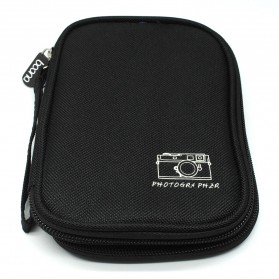 BOONA Tas Gadget Organizer Double Layer Size S - Black - 1
