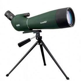 SVBONY Spotting Monocular Telescope 25-75X 70mm with Tripod - SV28 - Black/Green - 2