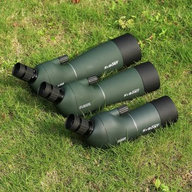 SVBONY Spotting Monocular Telescope 25-75X 70mm with Tripod - SV28 - Black/Green - 5