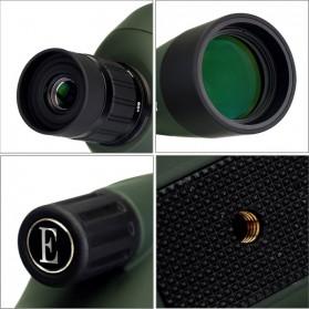 SVBONY Spotting Monocular Telescope 25-75X 70mm with Tripod - SV28 - Black/Green - 8