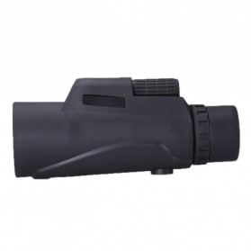 SUNCORE Teropong Monocular Outdoor Magnification Night Vision 1600-9600m 12x50 - Black