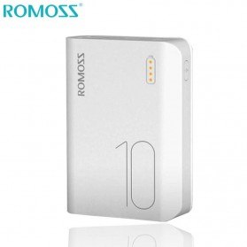 Romoss Sense 4 Mini Power Bank 10000mAh - PPH10 (Replika 1:1) - White - 1