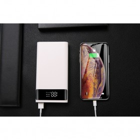 SZKOSTON DIY Power Bank Case 2 Port + USB Type C with LCD Display - S6PD - Black - 4