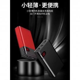 VEGER Power Bank LCD Display 2 Port 10000mAh - YZ-103 (false created) - Black - 3