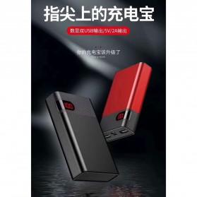 VEGER Power Bank LCD Display 2 Port 10000mAh - YZ-103 (false created) - Black - 5