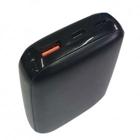 GARAS Power Bank USB Type C PD Charging QC3.0 10000mAh - PP-1003 - Black - 2