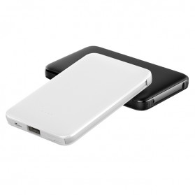 ANKUX Power Bank Built in Cable 3in1 5000mAh - PP510 - White - 2